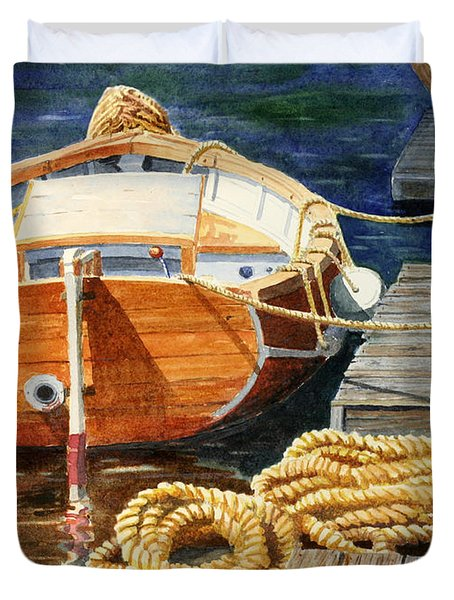 Safe Mooring Duvet Cover