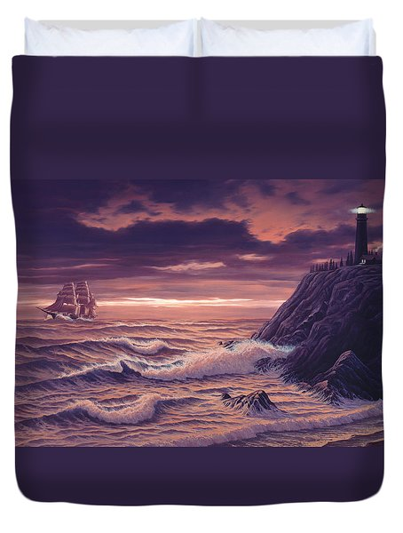 Safe Passage Duvet Cover