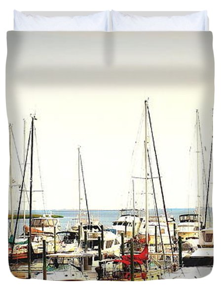 Safe Resting Place Duvet Cover by Reid Callaway