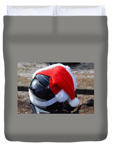 Safety First Santa Duvet Cover