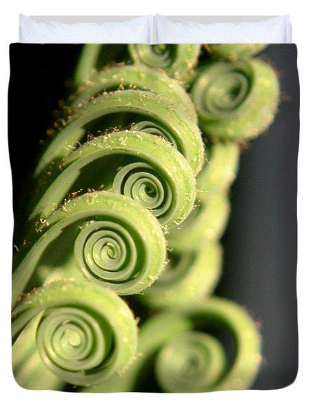 Sago Palm Leaf - 3 Duvet Cover