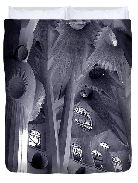 Sagrada Familia Vault Duvet Cover