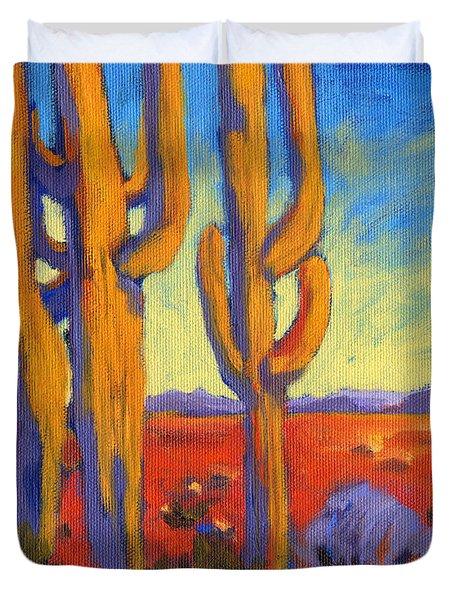 Saguaro 2 Duvet Cover