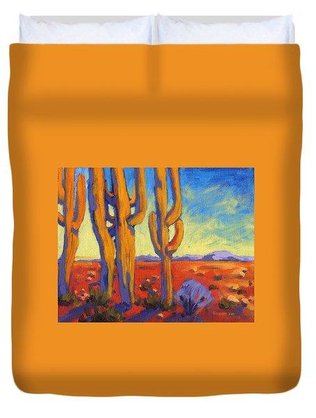 Desert Keepers Duvet Cover