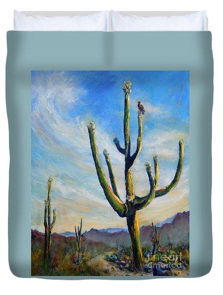 Saguaro Cacti Duvet Cover