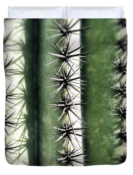 Saguaro Catus Needles Duvet Cover