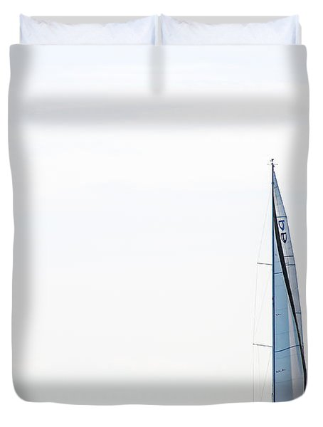 Sailboat Annapolis Duvet Cover