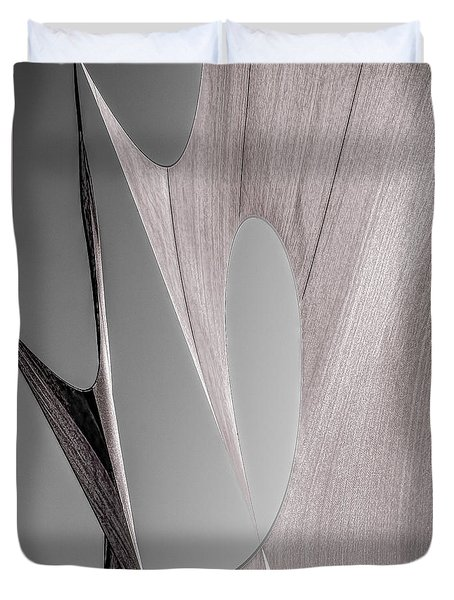 Sailcloth Abstract Number 2 Duvet Cover