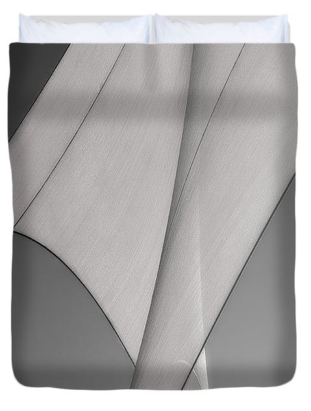 Sailcloth Abstract Number 3 Duvet Cover