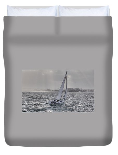 Sailing Bliss  Duvet Cover