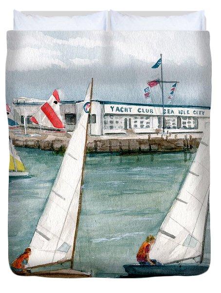 Sailing Class  Duvet Cover