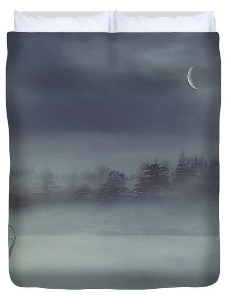 Sailing Odyssey Duvet Cover by Lourry Legarde