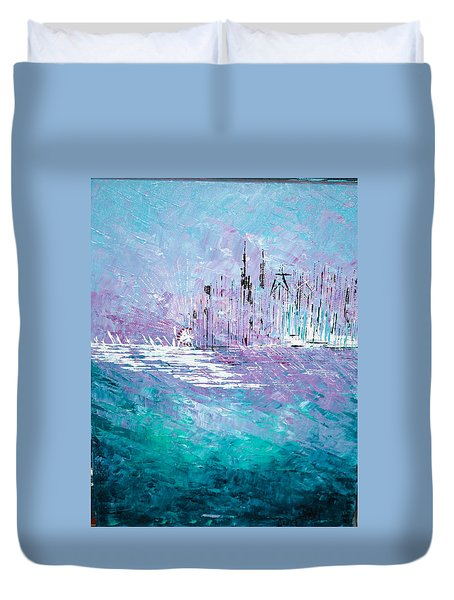 Sailing South - Sold Duvet Cover