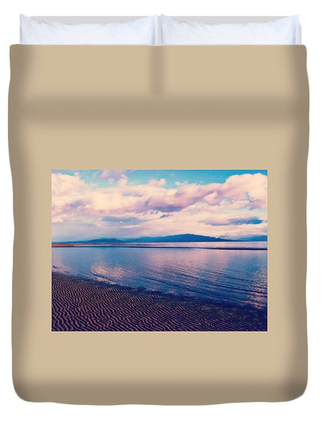 Duvet Cover featuring the photograph Sailor's Delight by Marilyn Wilson
