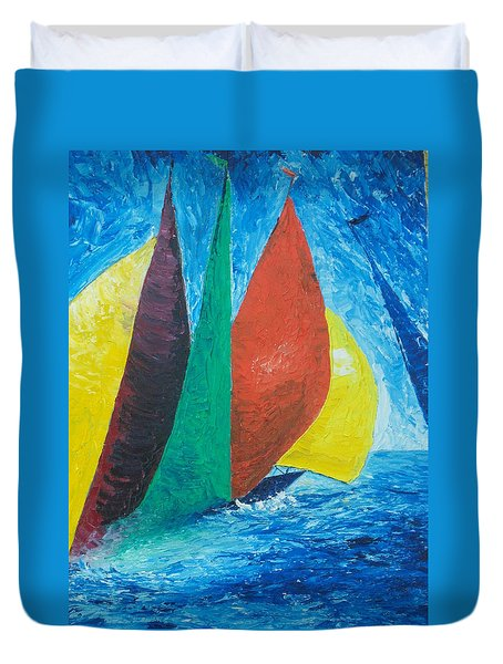 Sails Duvet Cover