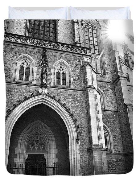 Saint Barbara's Church  Duvet Cover by Michal Boubin