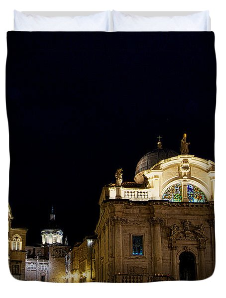 Saint Blaise Church - Dubrovnik Duvet Cover