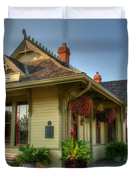 Saint Charles Station Duvet Cover