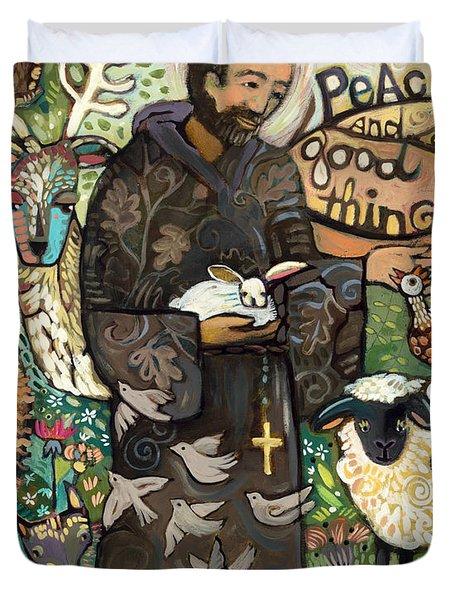 Saint Francis Duvet Cover