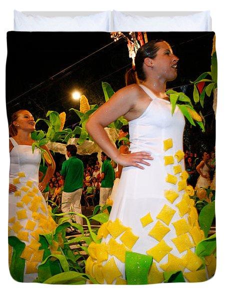 Saint John Festival Duvet Cover by Gaspar Avila