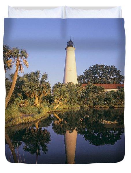 Saint Mark's Lighthouse Duvet Cover