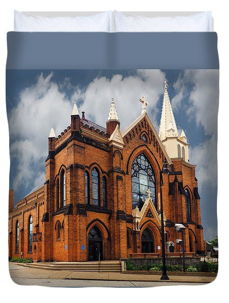 Saint Mary Of The Mount Church Duvet Cover