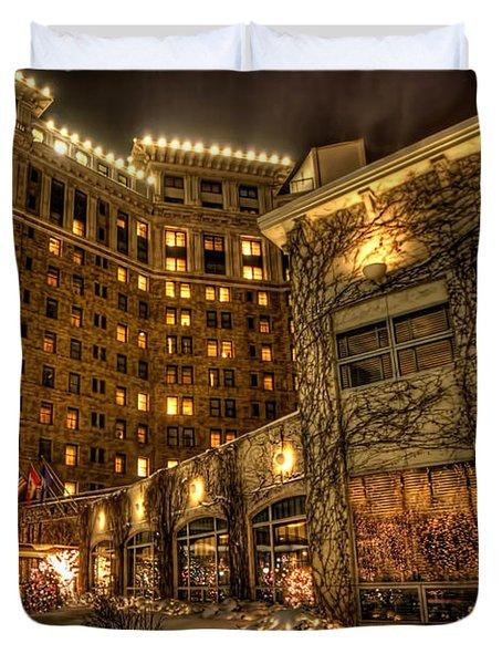 Saint Paul Hotel Duvet Cover by Amanda Stadther