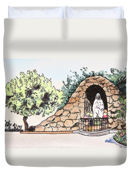 Saint Rosa Duvet Cover