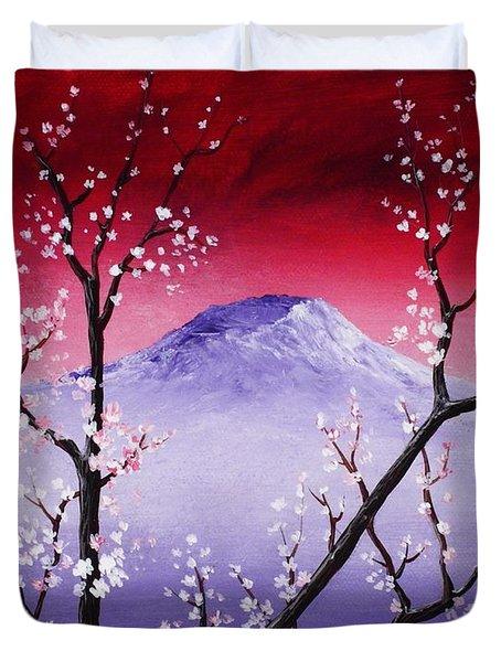 Sakura Duvet Cover