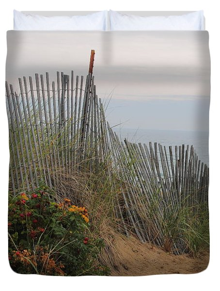 Salisbury Beach Duvet Cover