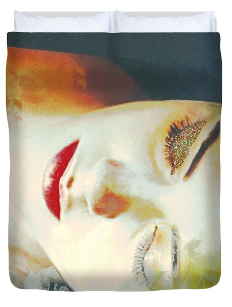 Sally Sleeps Duvet Cover