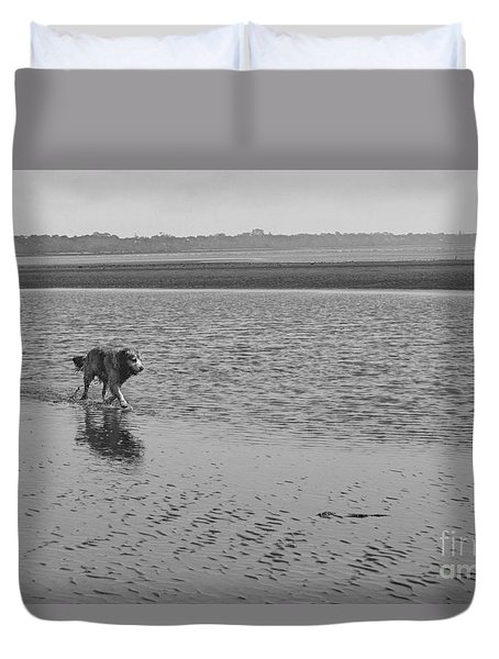 Duvet Cover featuring the photograph Sally V by Cassandra Buckley