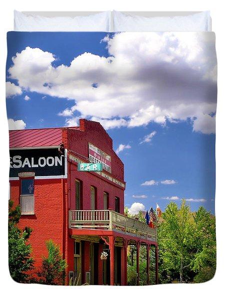 Saloon - Dayton - Nevada Duvet Cover