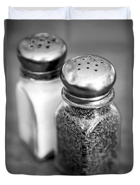 Salt And Pepper Shaker Duvet Cover