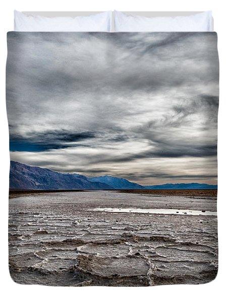 Salt Flats Duvet Cover