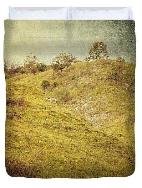 Salt Meadow Mounds Duvet Cover by Mandy Tabatt