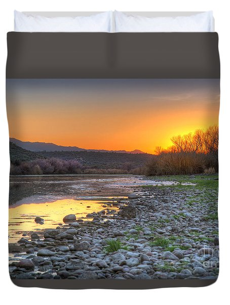 Salt River Bulldog Canyon Duvet Cover