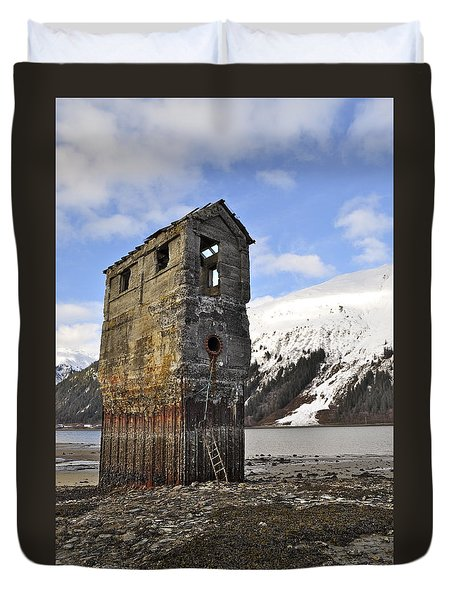 Saltwater Pump House Duvet Cover