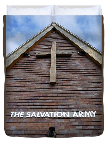 Salvation Duvet Cover by Doug Wilton