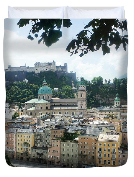 Salzburg Austria Old Town 3 Duvet Cover