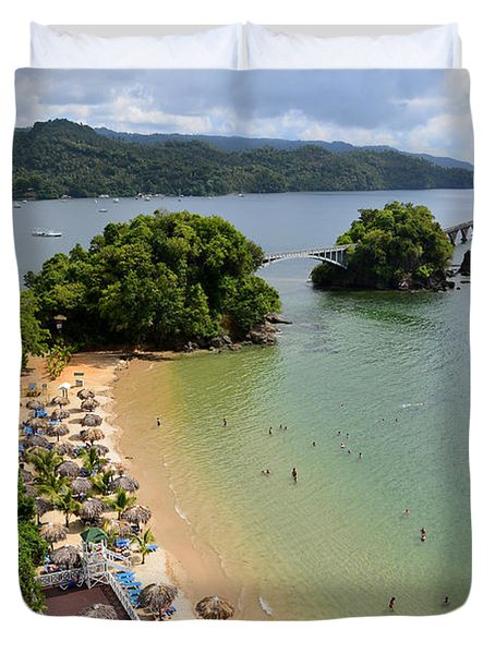 Samana In Dominican Republic Duvet Cover by Jola Martysz