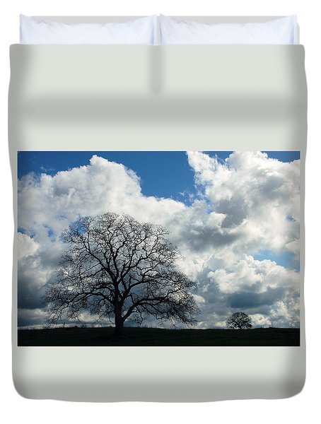 Same Tree Many Skies 13 Duvet Cover
