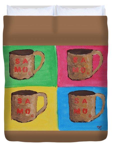 Samo Mug Duvet Cover