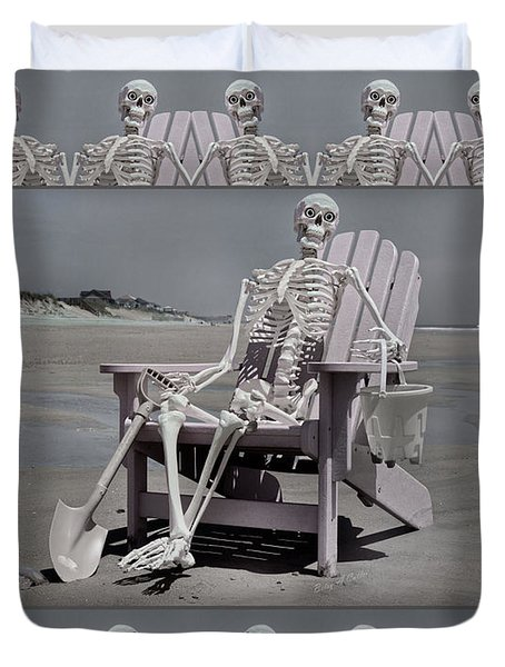 Sam's Humerus Office Wall Decor Duvet Cover