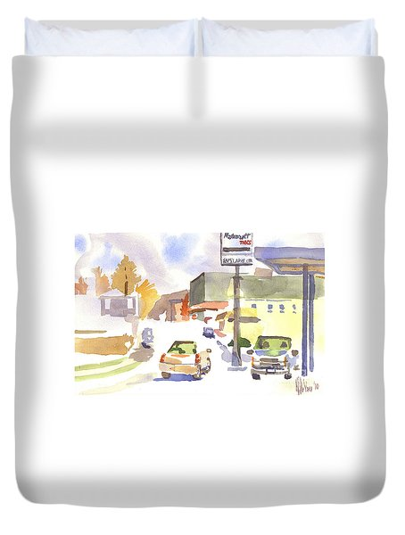 Sam's Service Duvet Cover by Kip DeVore