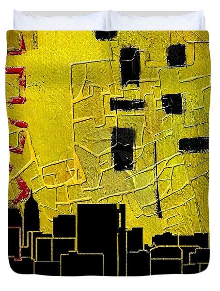 San Antonio 002 C Duvet Cover by Corporate Art Task Force