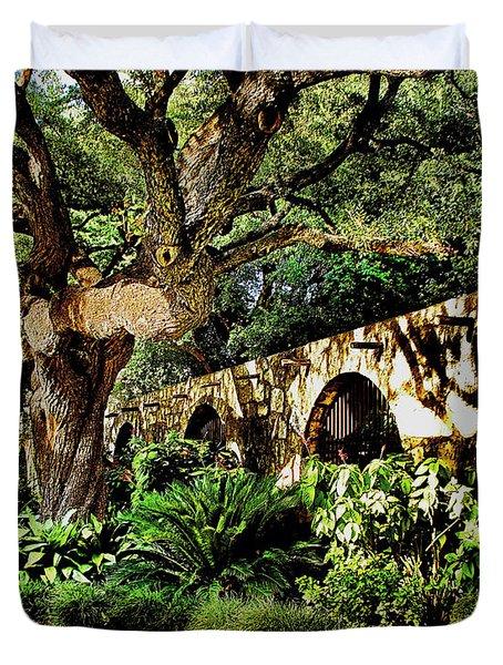 San Antonio D Duvet Cover