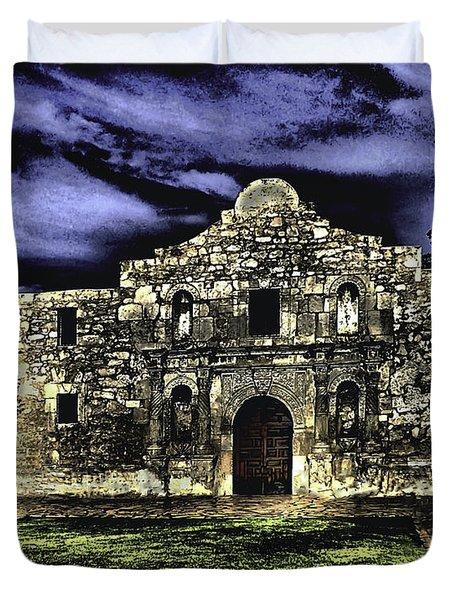 San Antonio E Duvet Cover