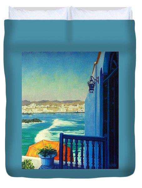 San Bartolo Bay,peru Impression Duvet Cover