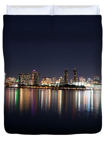 Duvet Cover featuring the photograph San Diego Ca by Gandz Photography
